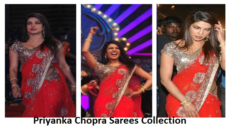 Latest Priyanka Chopra Saree Collection 2018