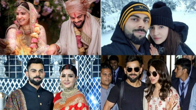 Latest Wedding photos of Bollywood Celebrities & Indian Cricketer