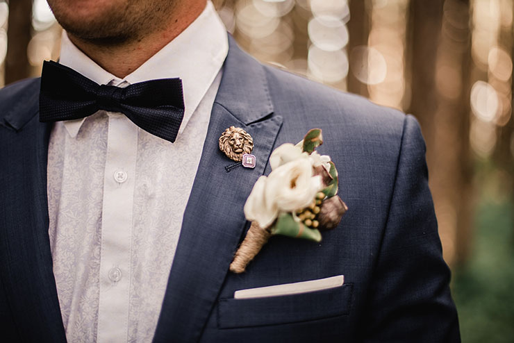 Indian Groom boutonniere - Dulha Wedding Accessories