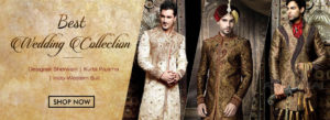 Latest Groom Clothes 2018 For Wedding & Reception