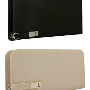 Combo of Black And Cream Women's Clutch