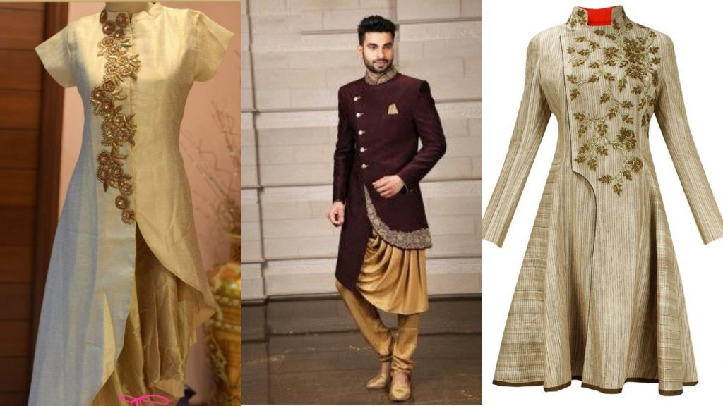 Make Women Dress from Mens Indo western