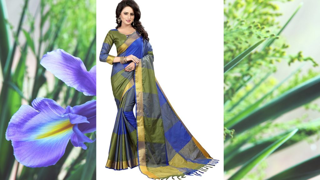 Cotton Silk Saree Under Rs.500